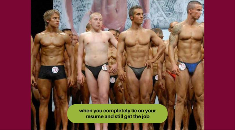 Unprofessional resume